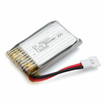 Bateria akumulator do drona DS 702030 300mAh widok z boku
