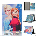 Etui Elsa Anna smart case Disney Apple ipad 2 + folia widok z przodu