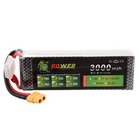 Bateria do drona Lion Power XT60 3000mAh 25C 11.1V