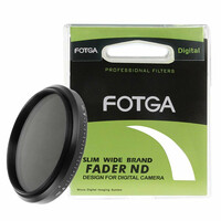 Filtr Slim Wide FOTGA ND ND2-ND400 FADER 52mm szary