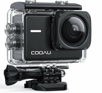 Kamera sportowa COOAU 4K 60fps 20MP 8XZoom