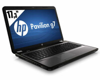 Laptop HP Pavilion G7 i5-2450M 4x2.5GHz 6GB RAM 3GB GPU 500GB HDD