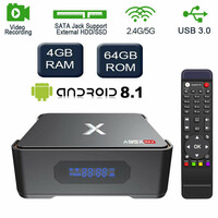 Odtwarzacz multimedialny tuner TV box A95X Max Android 8.1 4/64GB