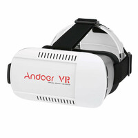 Okulary gogle 3D virtual reality 360 VR Box 2.0 widok z boku